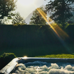 Hot tubs aren't just for winter