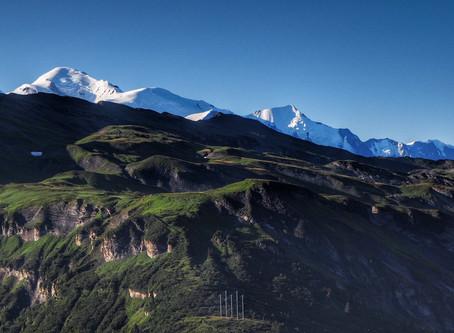 Up, up to the Refuge du Grenairon