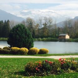 Lac Bleu in Autumn