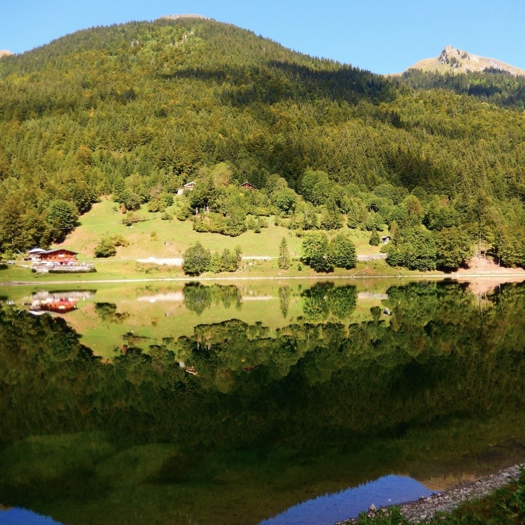 Lac Montriond - early Autumn