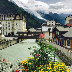 River Arve - Chamonix