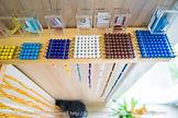 Mathématiques Montessori perles