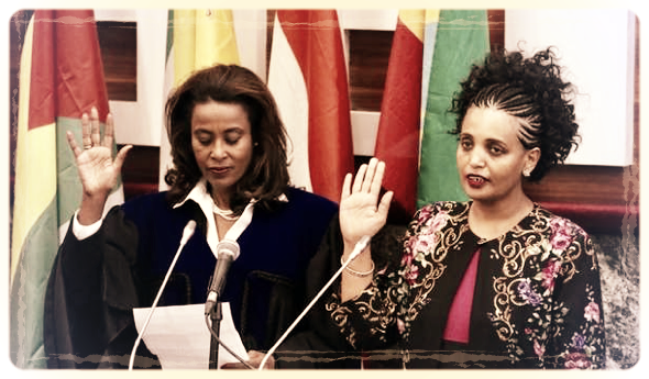 Meaza Ashenafi, présidente de la commission électorale nationale en Ethiopie