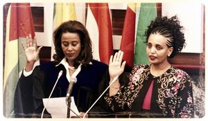 Meaza Ashenafi, présidente de la commission électorale nationale en Ethiopie