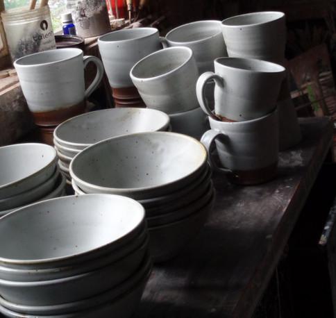 Miro Tea House set