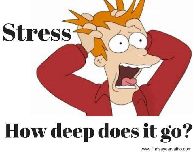 Stress: How deep does it go?