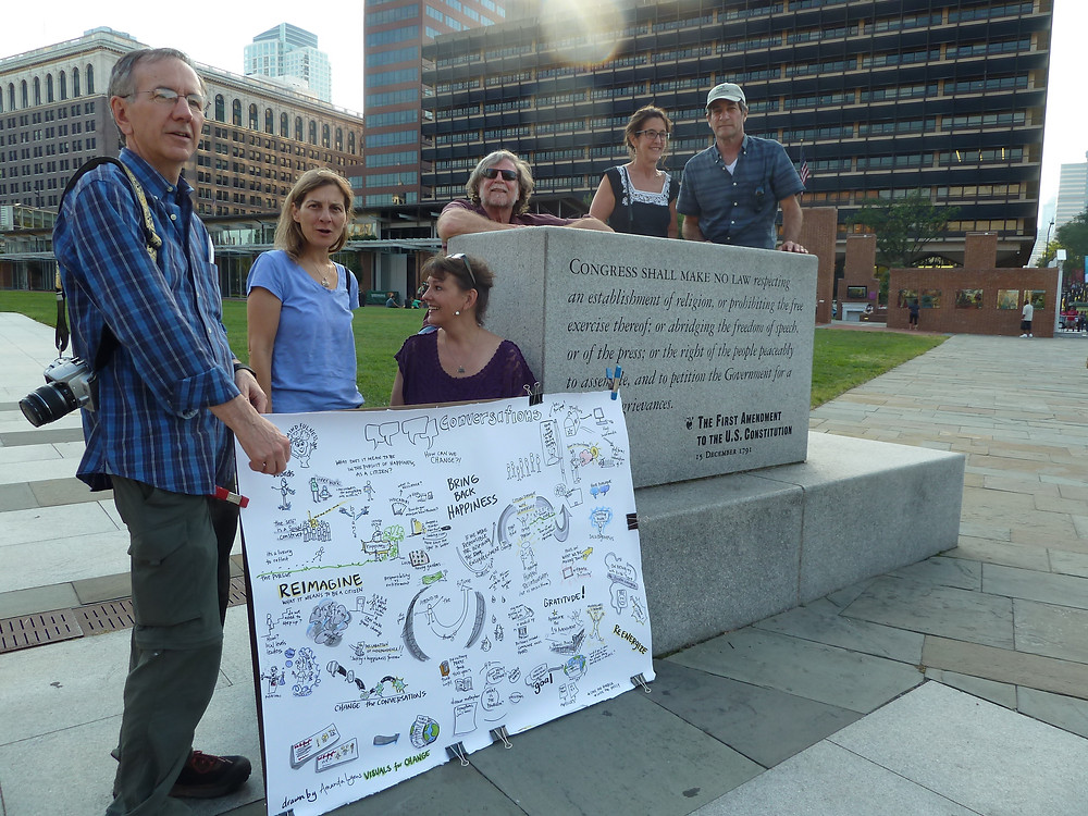 Meeting at People's Plaza to Re-imagine Citizenship