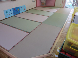 保育園の畳コーナー