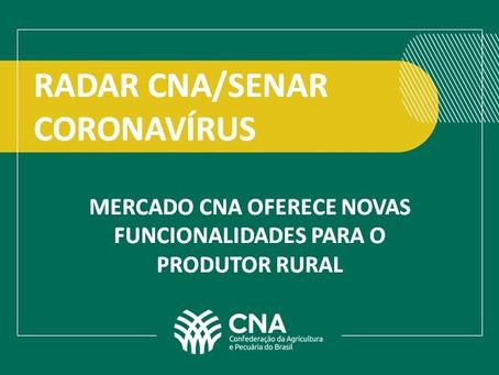 Mercado CNA oferece novas funcionalidades para o produtor rural
