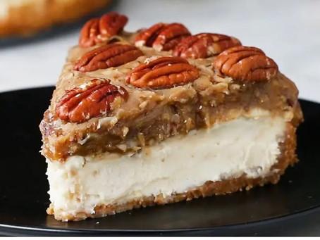 Cheesecake de noz-pecan