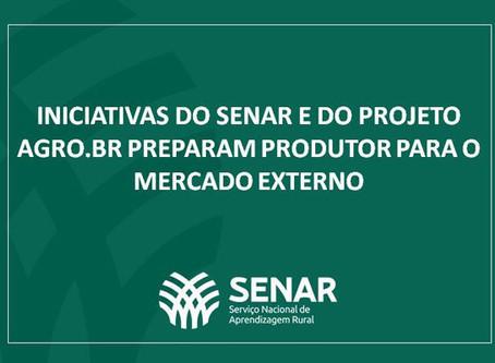 Iniciativas do Senar e do Projeto Agro.BR preparam produtor para o mercado externo