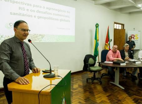 Câmara Temática do Mercosul recebe líderes do agro para debater cenário global de desafios