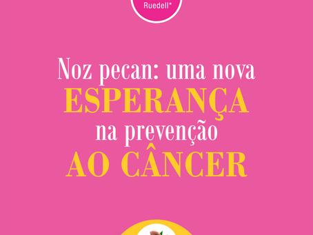 A Noz-pecan pode auxiliar na prevenção do câncer
