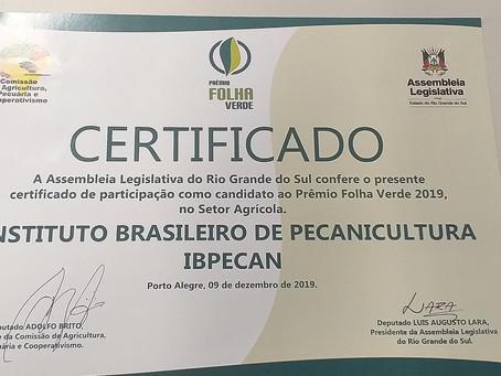 Indicação Prêmio Folha Verde