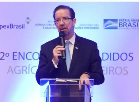 Embrapa ampliará apoio a adidos agrícolas