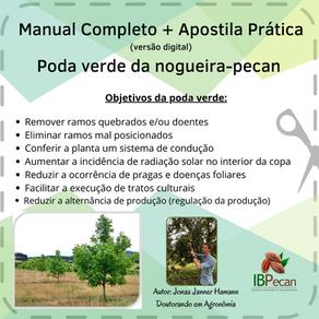 Adquira seu material para prática da poda-verde!