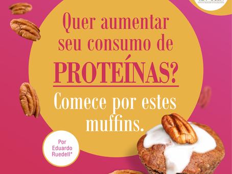 Noz-pecan: fonte alternativa de proteínas