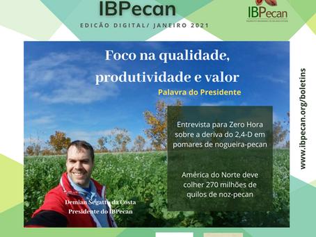 2021: tempo de muitas oportunidades para a pecanicultura