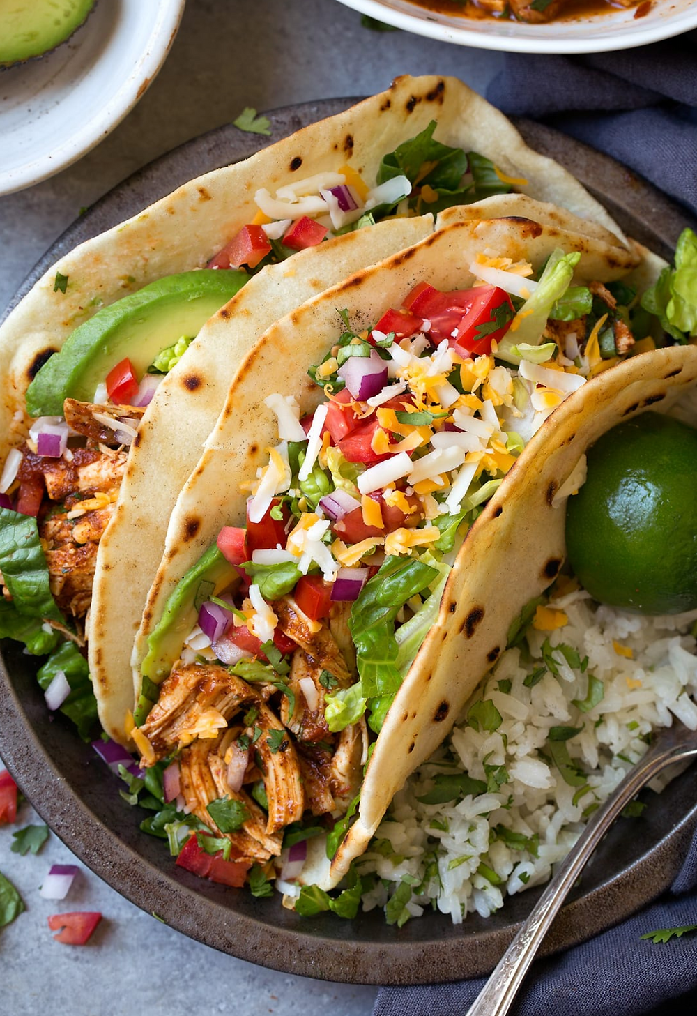 Salsa Chicken Tacos Recipe for RVs