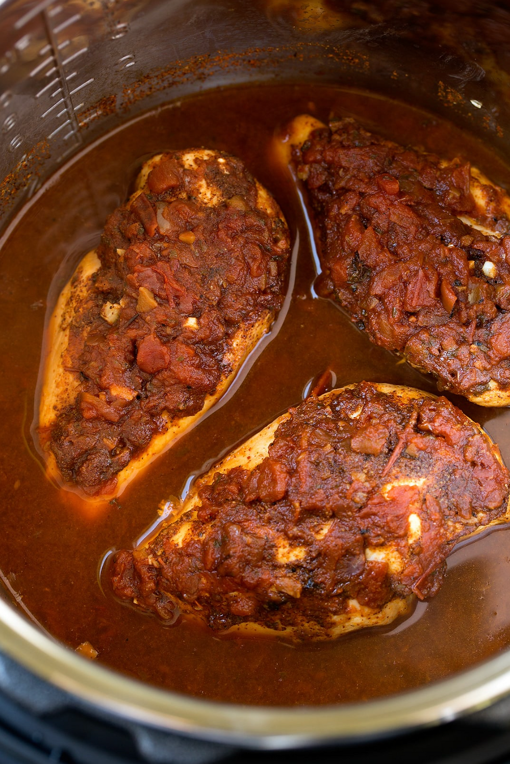 Cooking Salsa Chicken in Instant Pot or Slow Cooker