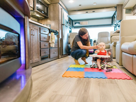 Tips For Camping With Infants And Toddlers In An RV | Mid Florida RV