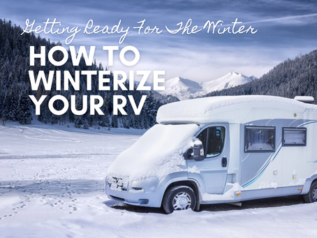 Getting Ready For The Winter: How To Winterize Your RV   Mid Florida RV Services