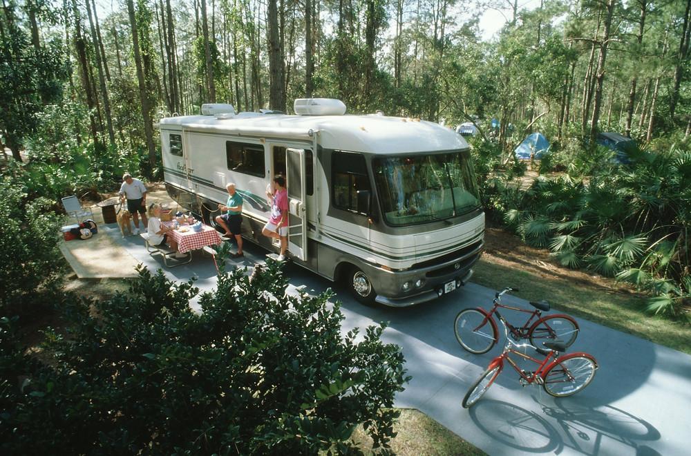 Campsite at Disney's Fort Wilderness Resort | Walt Disney World Resort
