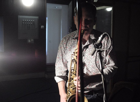 Recording Solstice ensemble for Czech Radio Vltava