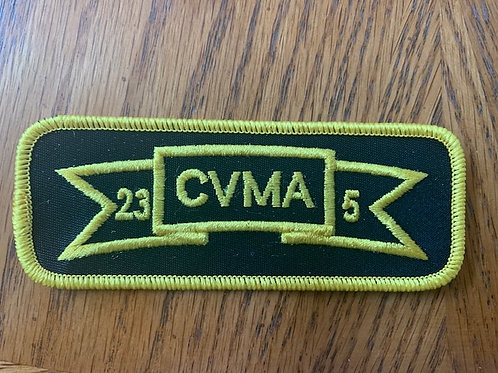 CVMA 23-5 Scroll Patch