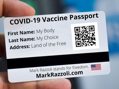 Mark Razzoli's Vaccine Passport