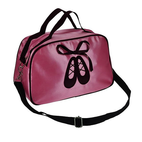 Pink Satin Dance Bag