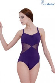 Purple Mesh Leotard