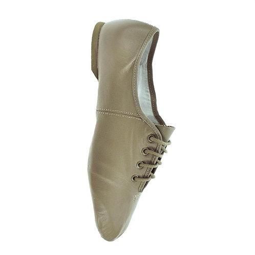 JZE09 Tan Split Sole Jazz Shoe