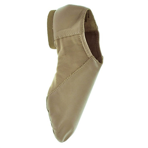 JZE45 Tan Pull on Jazz Shoes