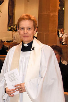 Rev Imogen Falvey, Priest in Charge