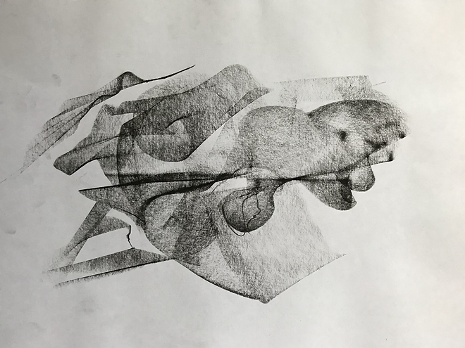 Study for a Human Figure
