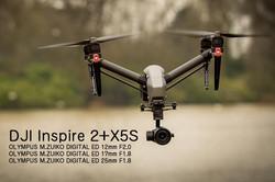 Inspire2+X5S