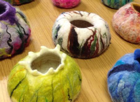 Scampston Hall - felt bowls