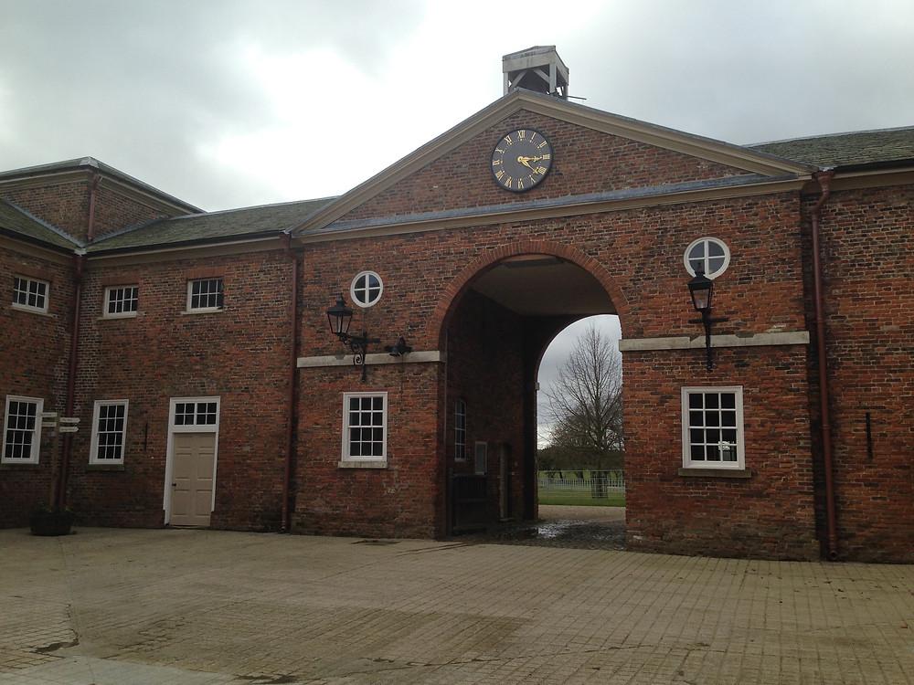 Burton Constable court yard