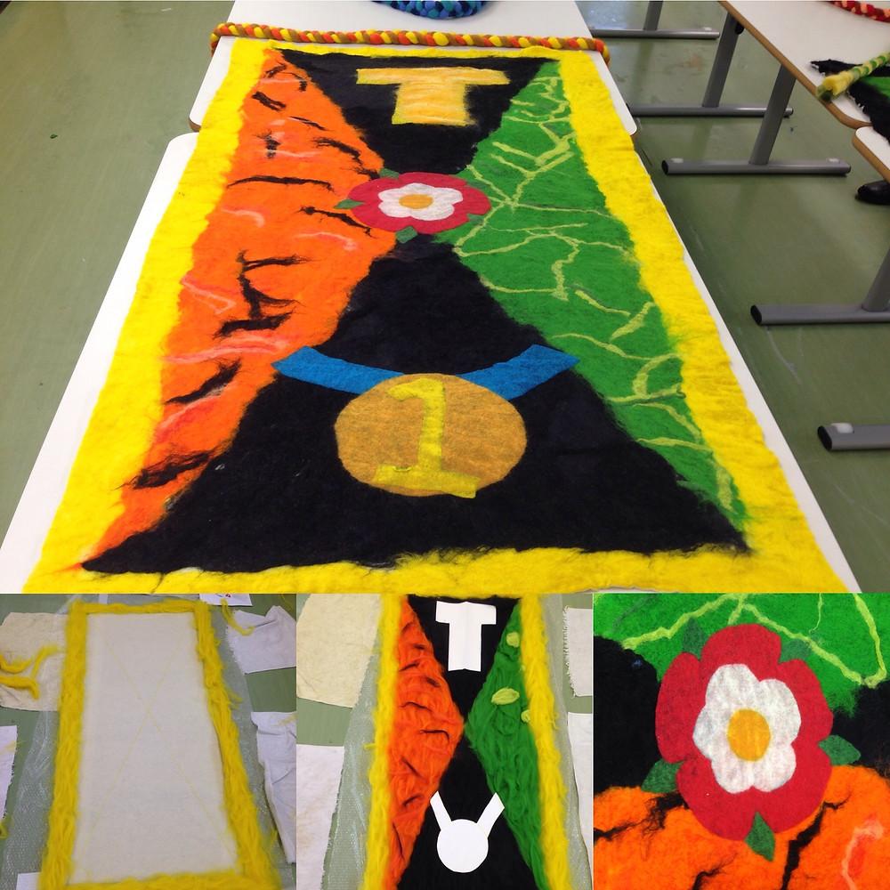 Tudor's banner