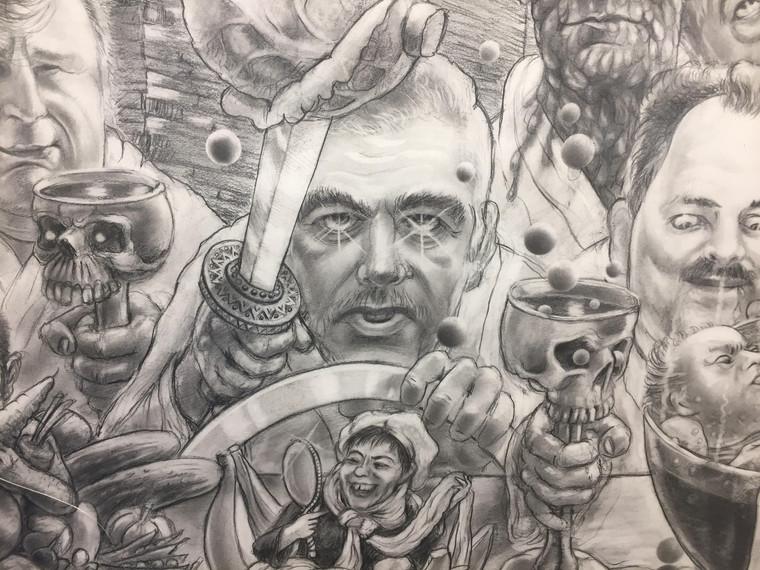 """Endel Saarepuu näitus """"Mees metsast"""""""