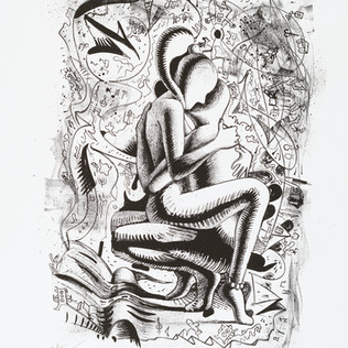 "K. M. Kostabi ""Orgastic Explosion of Erotica"""