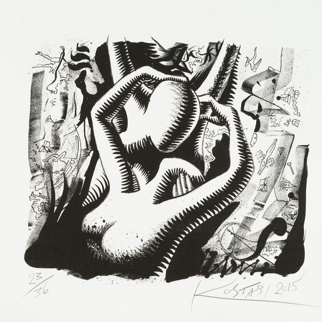 "K. M. Kostabi ""Love In The Jungle"""