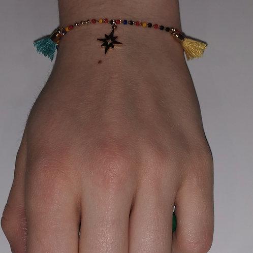 Bracelet pompons
