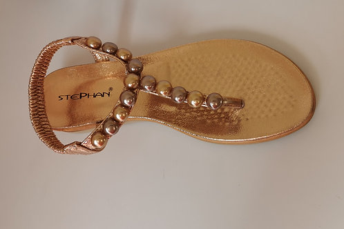 Sandale à perles