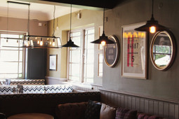Our dining area at The Station Pub, West Byfleet