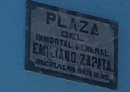 La gira de Zapata rumbo a  Jonacatepec