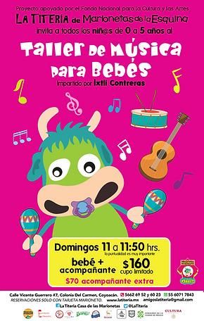 T. Musica para bebes 2019 posters 2362x3