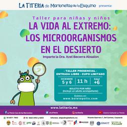 Taller LOS MICROORGANISMOS EN EL DESIERT
