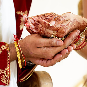 Jaina and Kishan Religious ceremony